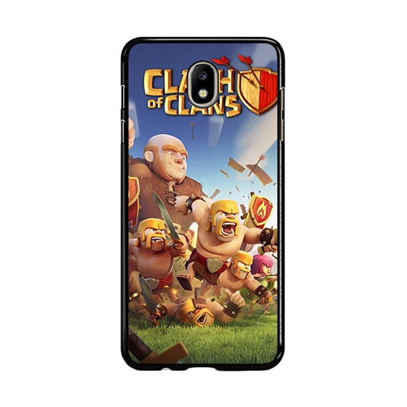 Flazzstore Clash Of Clans Mobile Games Z0430 Custom Casing for Samsung Galaxy J5 Pro 2017