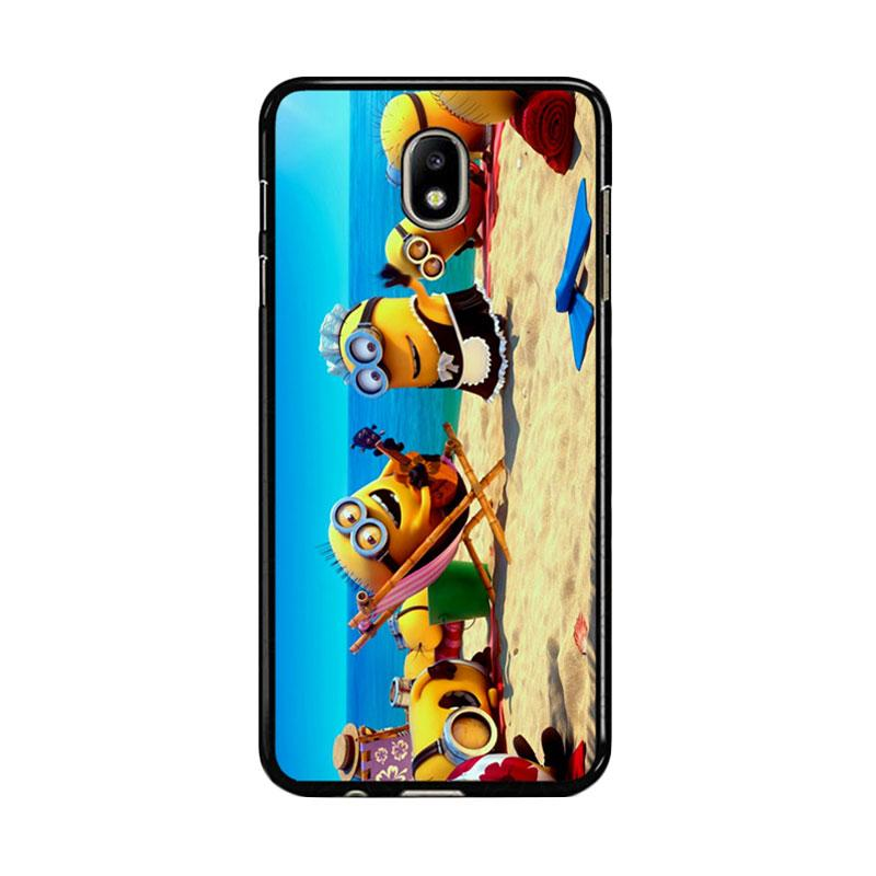 Flazzstore Minions In Beach Vocation Z0465 Custom Casing for Samsung Galaxy J5 Pro 2017