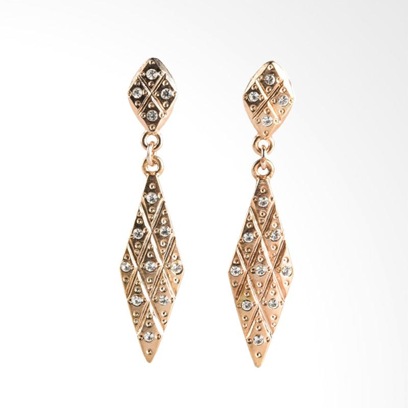1901 Jewelry 1775 GW.1775.HR39 Giwang Women Earrings - Gold