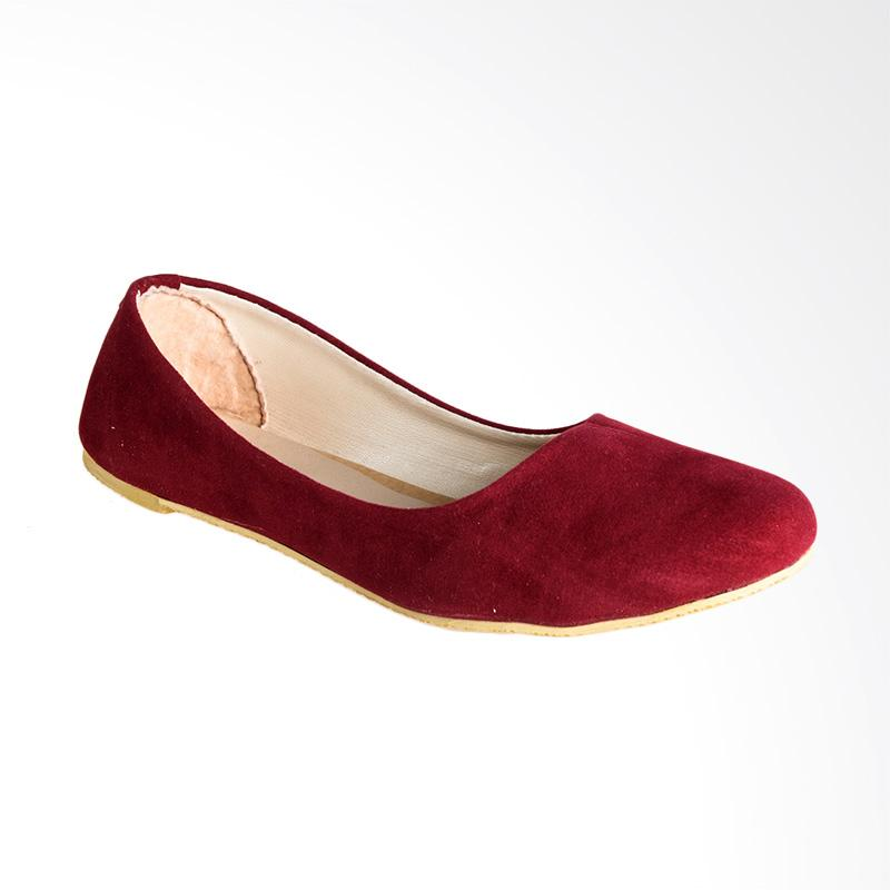 A.C.C.E.P.T. Mc. Kenzie Flat Shoes - Maroon