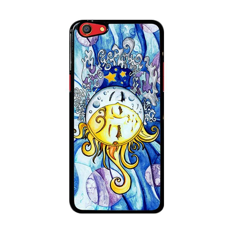 Flazzstore Sun And Moon Z1074 Custom Casing for Oppo F3