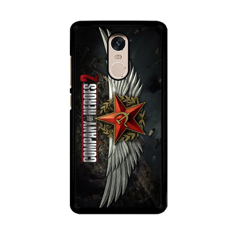 Flazzstore Company Of Heroes Video Game Z1027 Custom Casing for Xiaomi Redmi Note 4 or Note 4X Snapdragon Mediatek