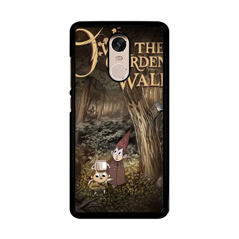 Flazzstore Over The Garden Wall Z1267 Custom Casing for Xiaomi Redmi Note 4 or Note 4X Snapdragon Mediatek