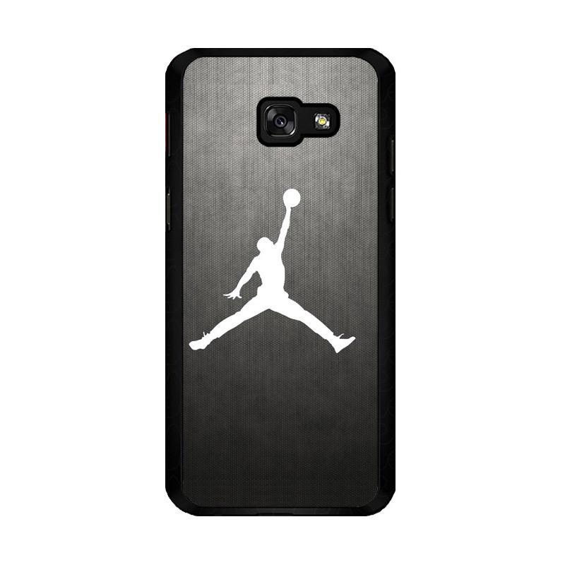 Flazzstore Air Jordan Black Texture O0621 Custom Casing for Samsung Galaxy A5 2017