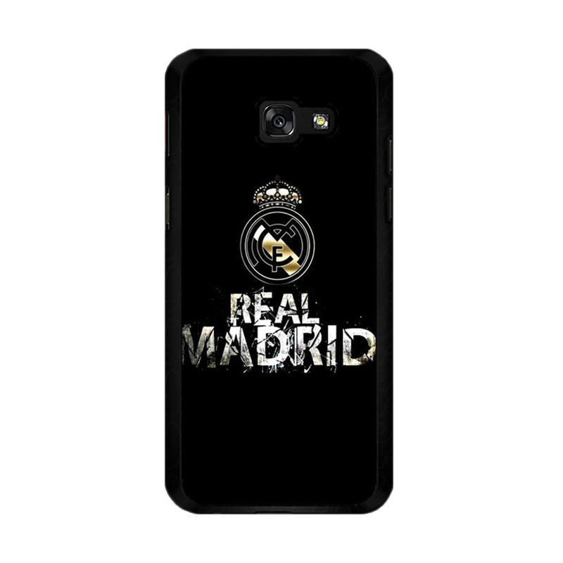 Flazzstore Real Madrid Logo O1047 Custom Casing forSamsung Galaxy A5 2017