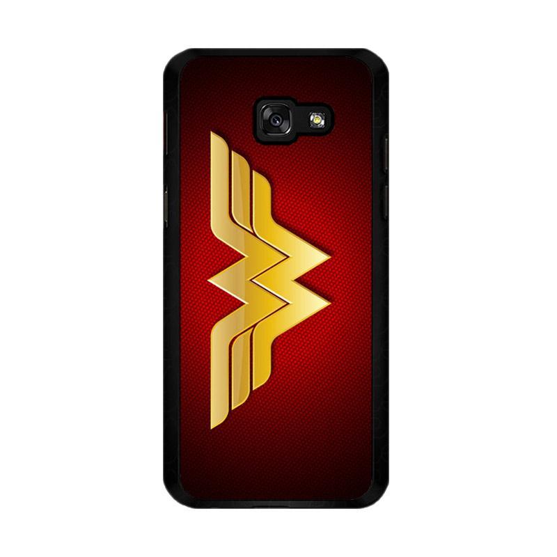 Flazzstore Wonder Woman Logo F0248 Custom Casing for Samsung Galaxy A5 2017