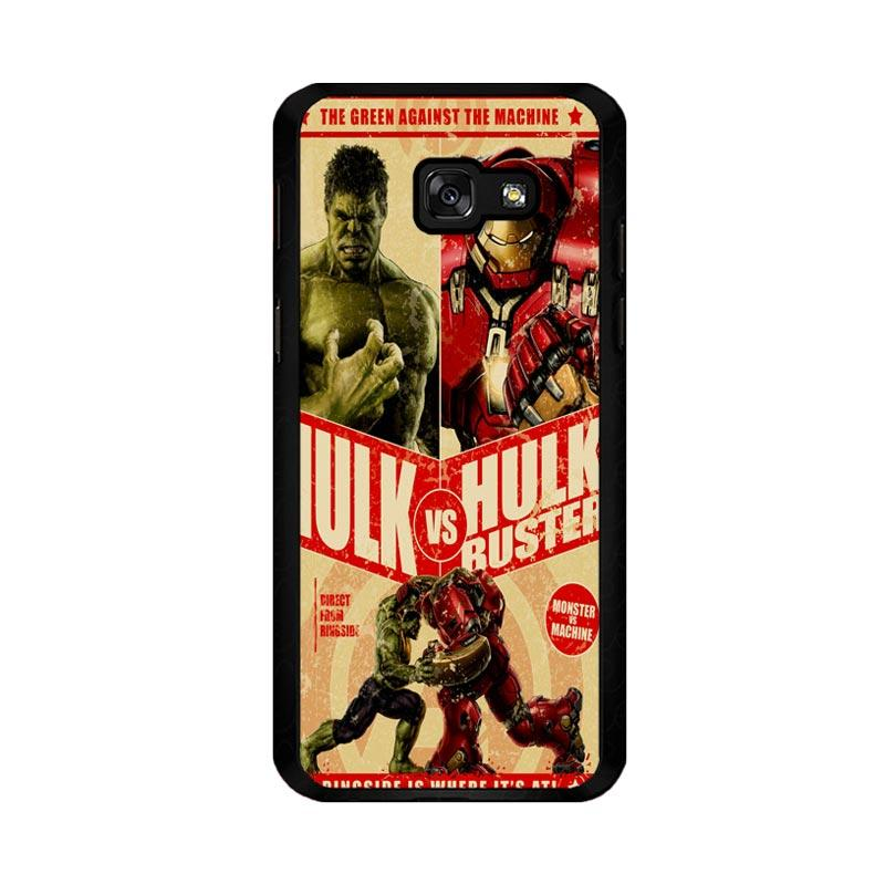 Flazzstore Hulk Vs Hulkbuster Poster Z0741 Custom Casing for Samsung Galaxy A5 2017