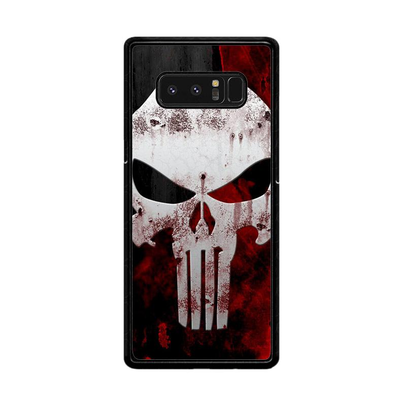 Flazzstore Marvel Superhero Punisher  Logo Z0505 Custom Casing for Samsung Galaxy Note8