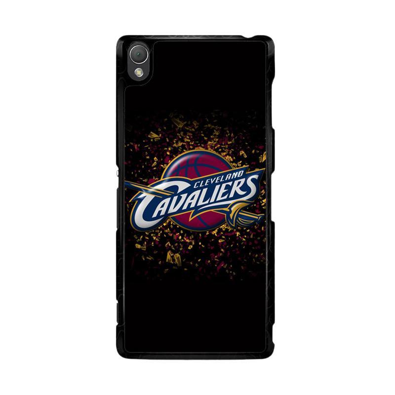 Flazzstore Cleveland Cavaliers Logo O0712 Custom Casing for Sony Xperia Z3