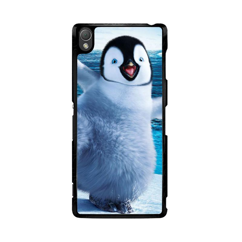 Flazzstore Happy Feet Penguin F0448 Custom Casing for Sony Xperia Z3