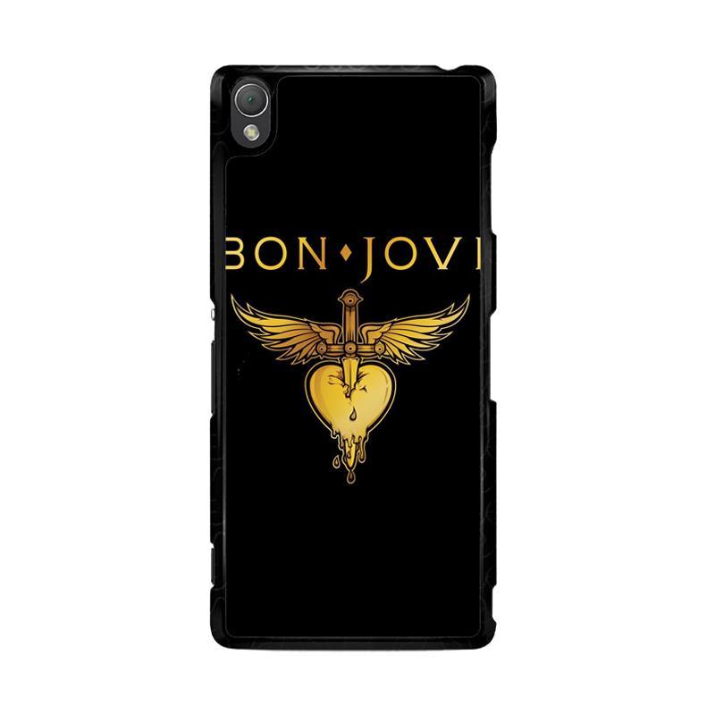 Flazzstore Bon Jovi Logo F0357 Custom Casing for Sony Xperia Z3