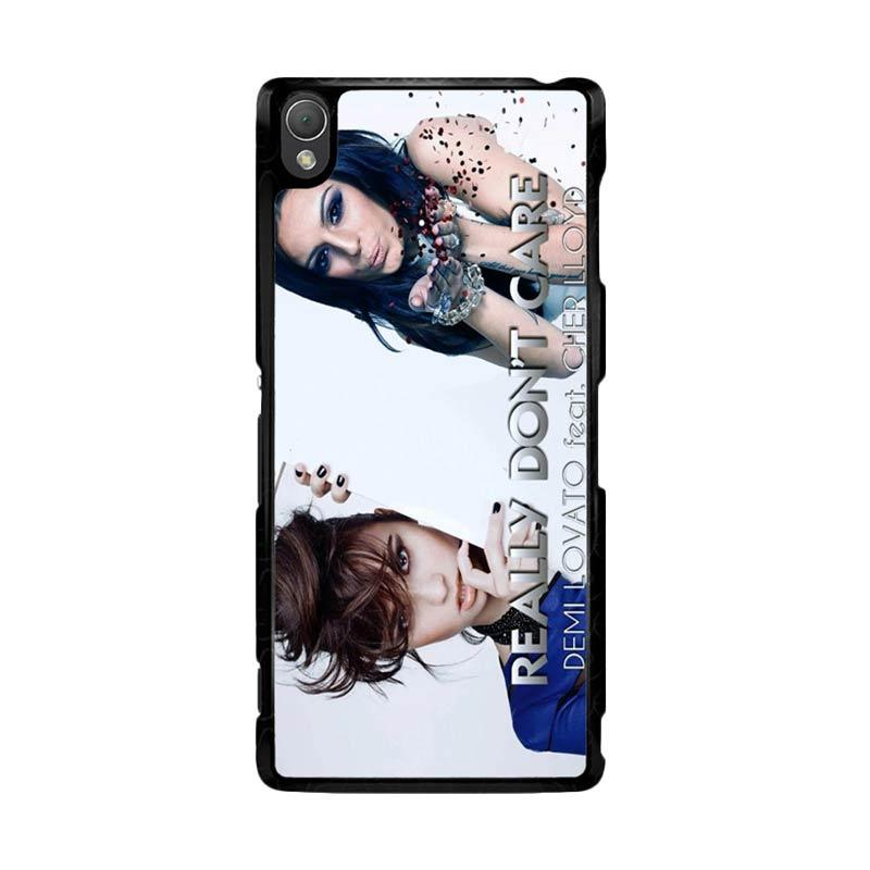 Flazzstore Demi Lovato Feat Cher Lloyd Really Dont Care Z0129 Custom Casing for Sony Xperia Z3