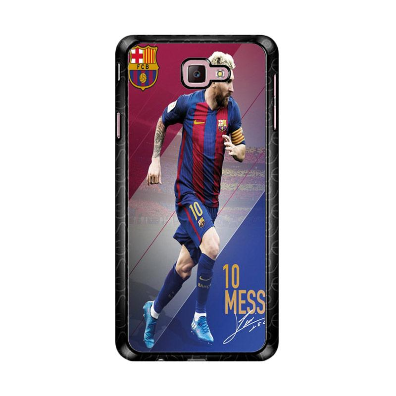 Flazzstore Lionel Messi With Signature Z4928 Custom Casing for Samsung Galaxy J7 Prime