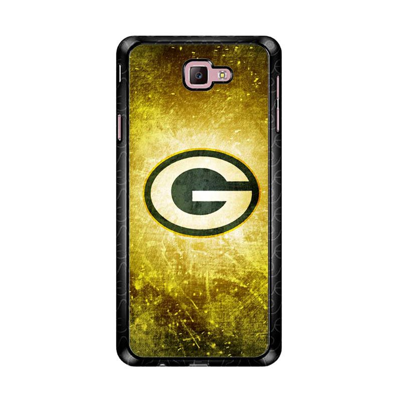 Flazzstore Green Bay Packer Logo Z4993 Custom Casing for Samsung Galaxy J7 Prime