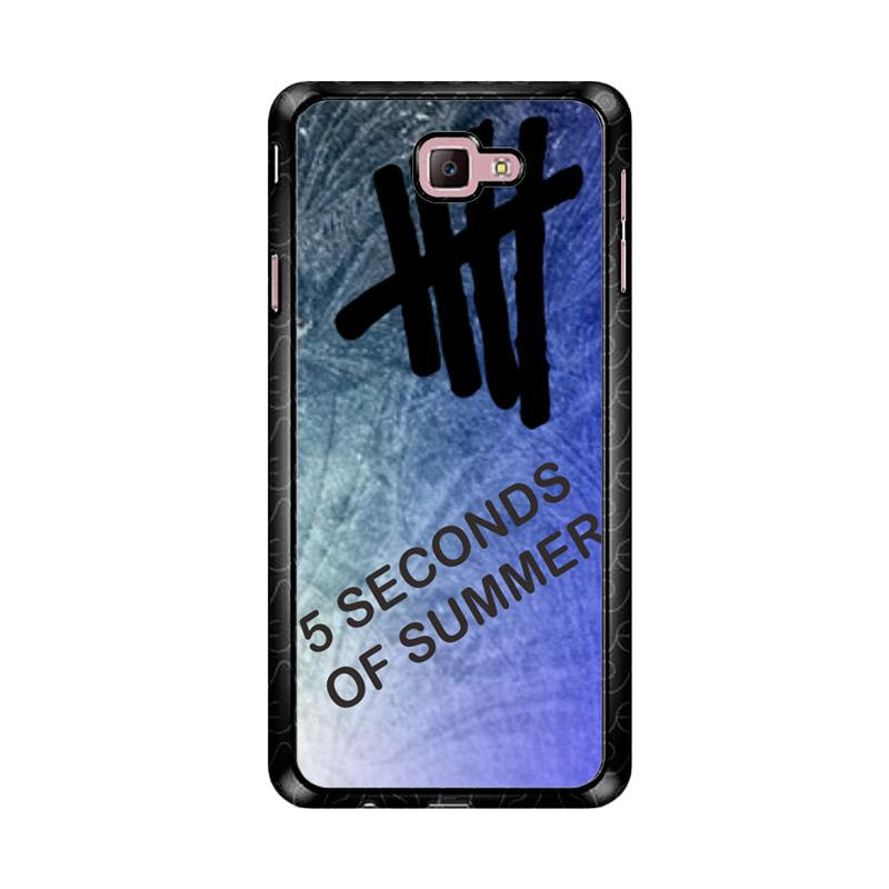 Flazzstore 5 Sos Letter D00367 Custom Casing for Samsung Galaxy J7 Prime