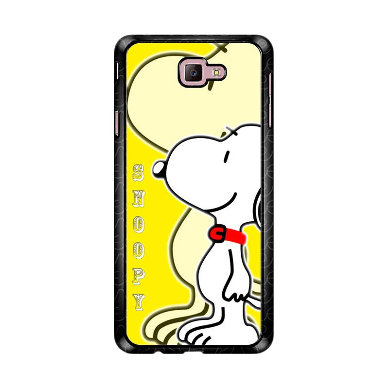 Flazzstore Snoopy D0053 Custom Casing for Samsung Galaxy J7 Prime