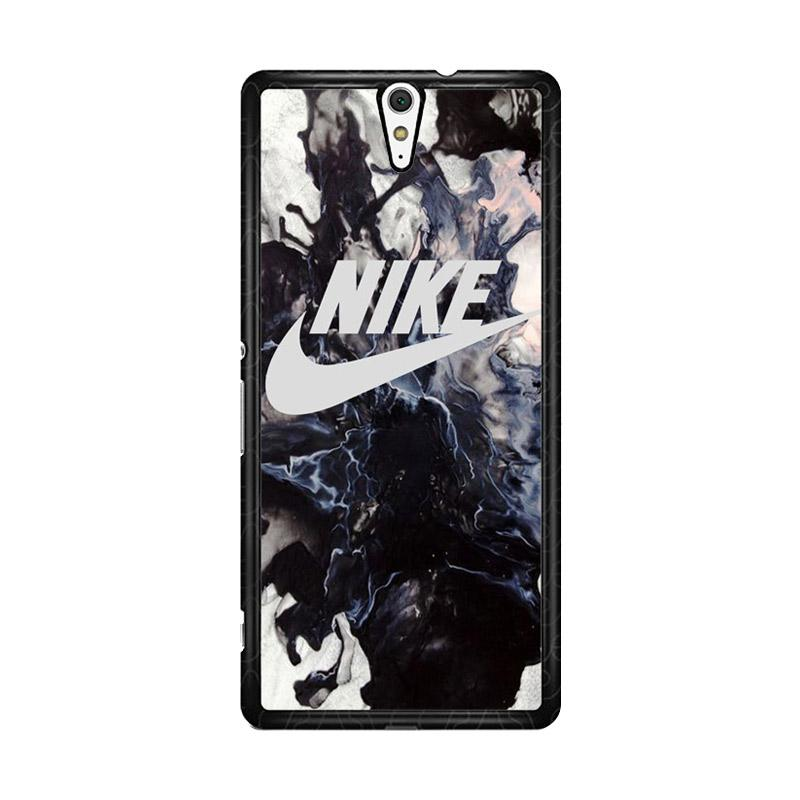 Flazzstore Nike Smoke Black O0067 Custom Casing for Sony Xperia C5 Ultra