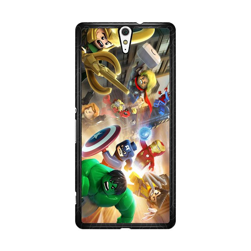 Flazzstore Lego Marvel O0408 Custom Casing for Sony Xperia C5 Ultra