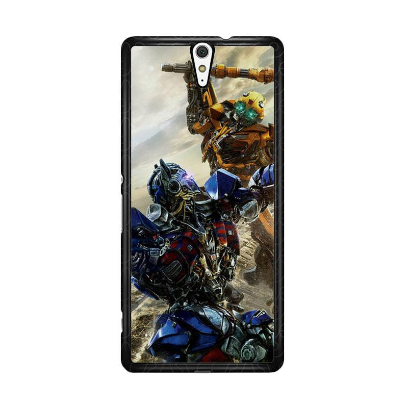 Flazzstore Bumblebee Versus Optimus Prime O0744 Custom Casing for Sony Xperia C5 Ultra