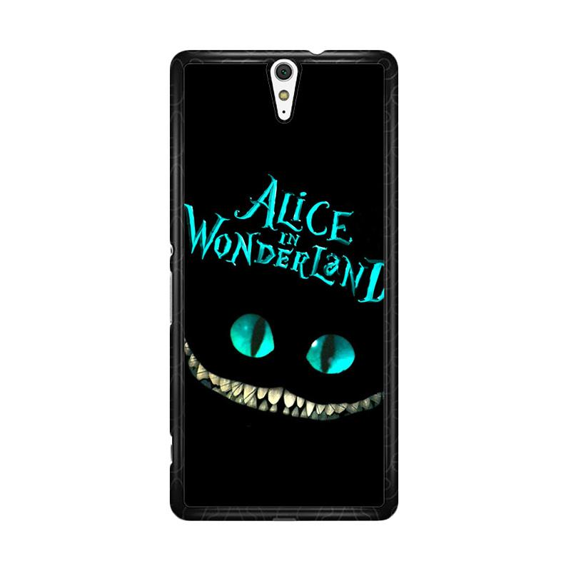 Flazzstore Alice In Wonderland F0148 Custom Casing for Sony Xperia C5 Ultra