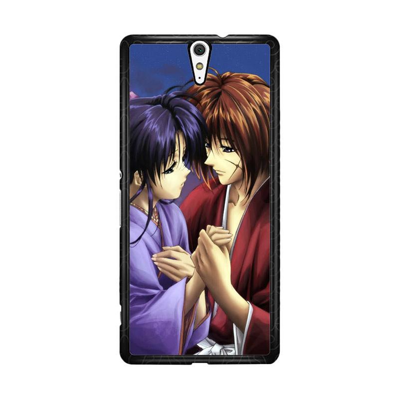Flazzstore Samurai X Kenshin And Kaoru Z0701 Custom Casing for Sony Xperia C5 Ultra