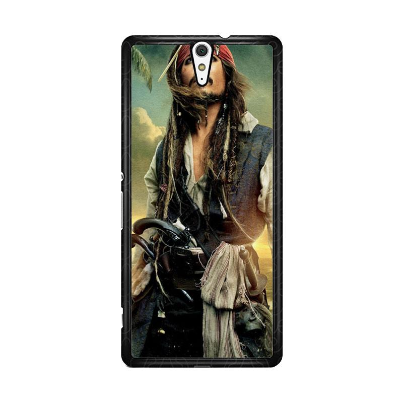 Flazzstore Captain Jack Sparrow F0344 Custom Casing for Sony Xperia C5 Ultra