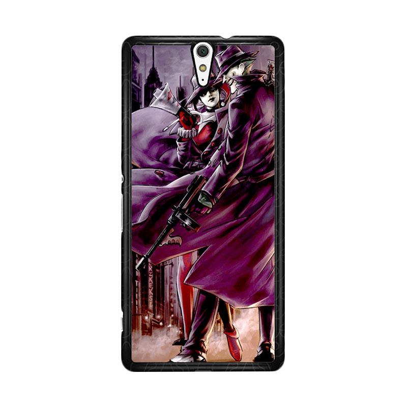 Flazzstore Joker And Harley Quinn Art Z0029 Custom Casing for Sony Xperia C5 Ultra