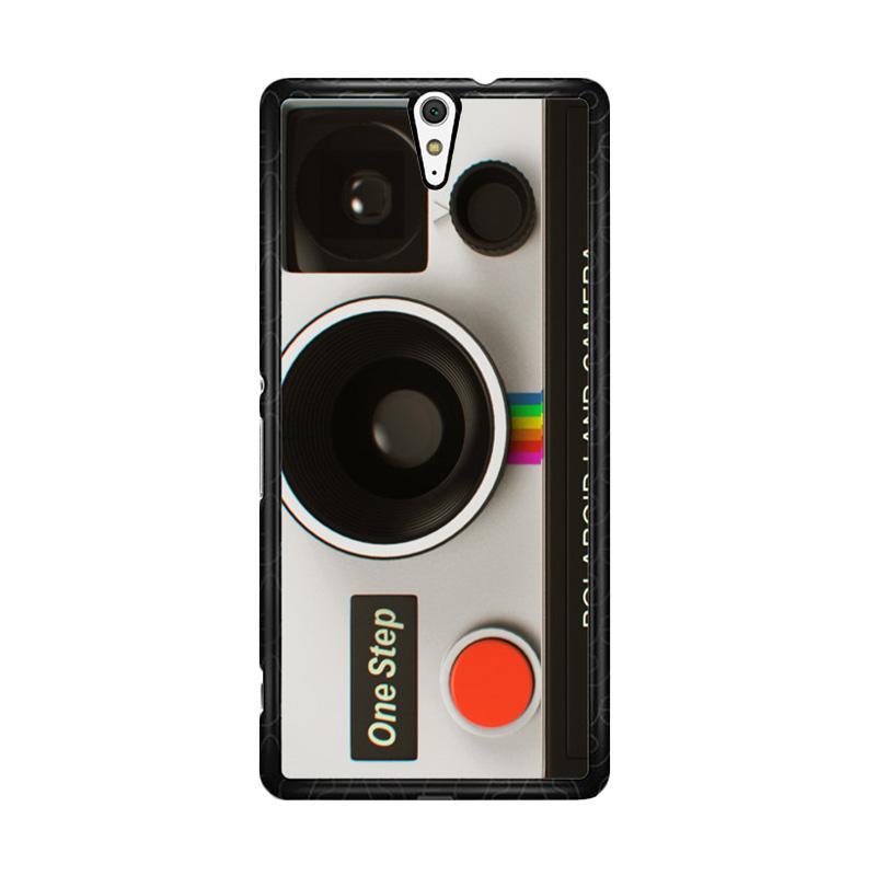 Flazzstore Vintage Polaroid Camera Z0076 for Sony Xperia C5 Ultra