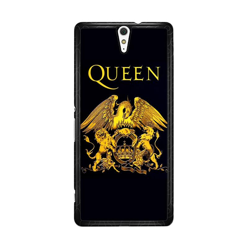 Flazzstore Queen Logo Gold Z0260 Custom Casing for Sony Xperia C5 Ultra