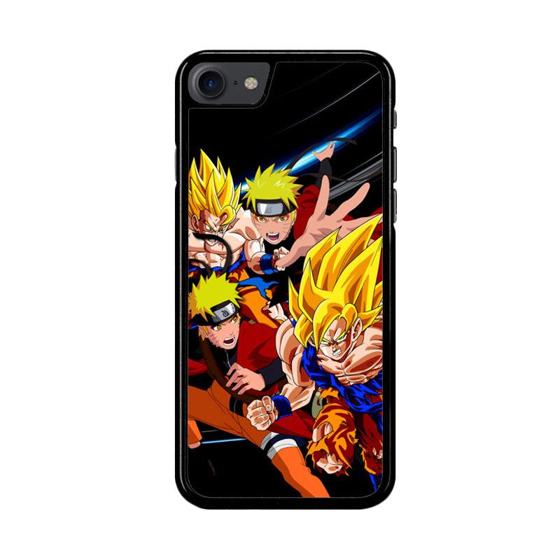 Flazzstore Goku Naruto Z2599 Custom Casing for iPhone 7 or 8