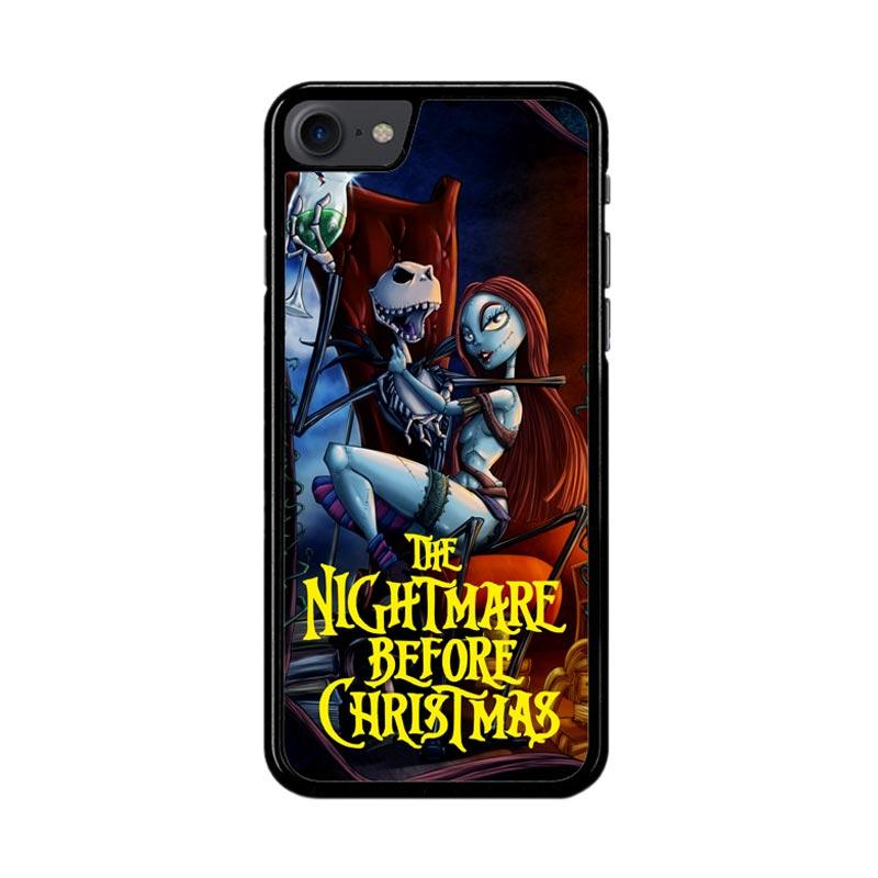 Flazzstore Nightmare Before Christmas Romance Z2862 Custom Casing for iPhone 7 or 8