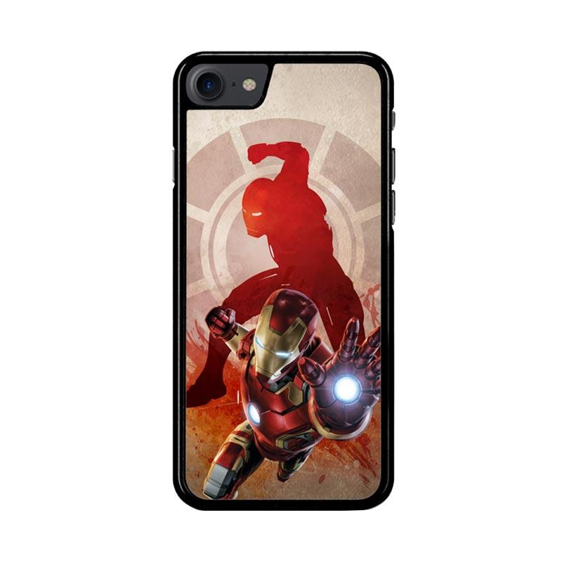 Flazzstore Marvels Iron Man Pose Z2891 Custom Casing for iPhone 7 or 8
