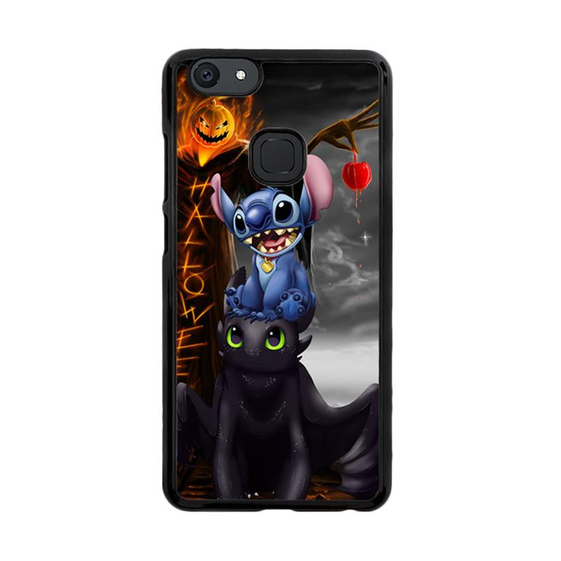 Flazzstore Stitch Toothless Dragon Z2587 Custom Casing for Vivo V7 Plus