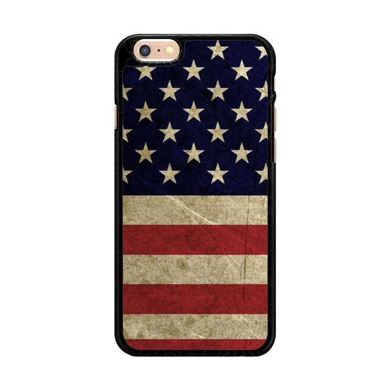 harga Flazzstore American Flag 3 O0232 Custom Casing for iPhone 6 Plus or iPhone 6S Plus Blibli.com