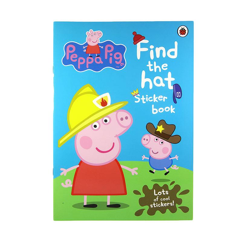 Penguin Peppa Pig Find the Hat by Ladybird Buku Anak