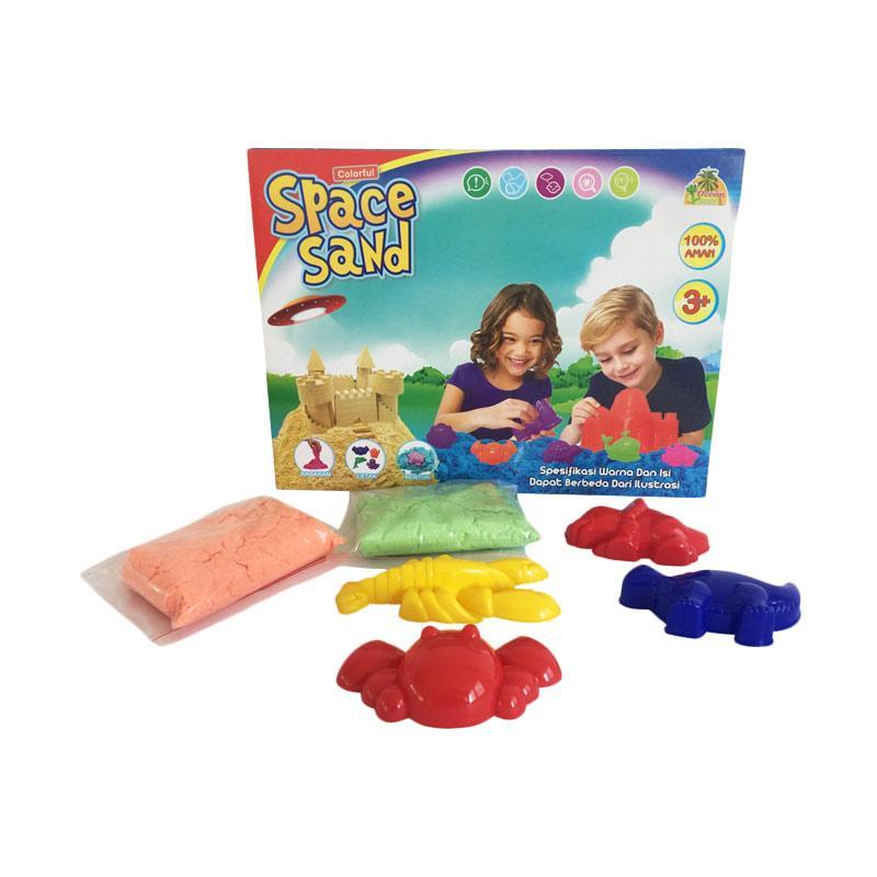 Pasir Ajaib Pasir Kinetik Mainan Anak Pasir Ajaib Space Sand Pasir Kinetik Mainan Edukasi Anak Ocean Toy OCT9005