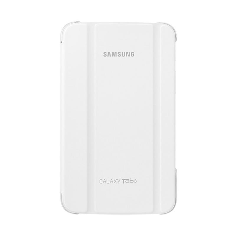 harga Samsung Book Cover Casing for Galaxy Tab 3 SM-T211 or P3200 7.0 Inch - Putih [Original] Blibli.com
