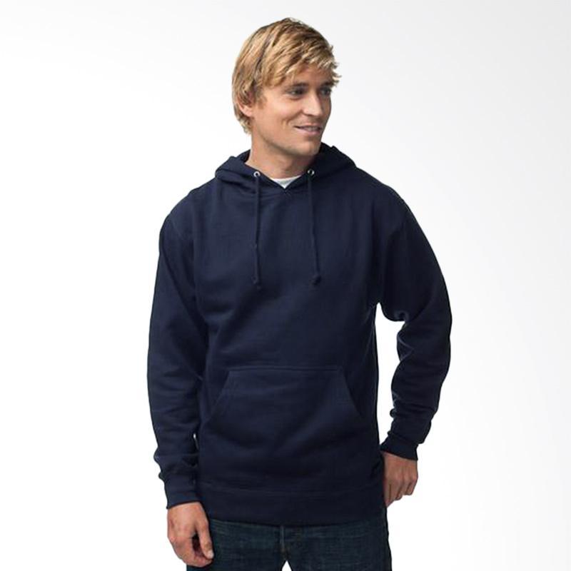 Jual Refill Stuff Hoodie Polos Sweater Pria - Navy Online - Harga & Kualitas Terjamin | Blibli.com