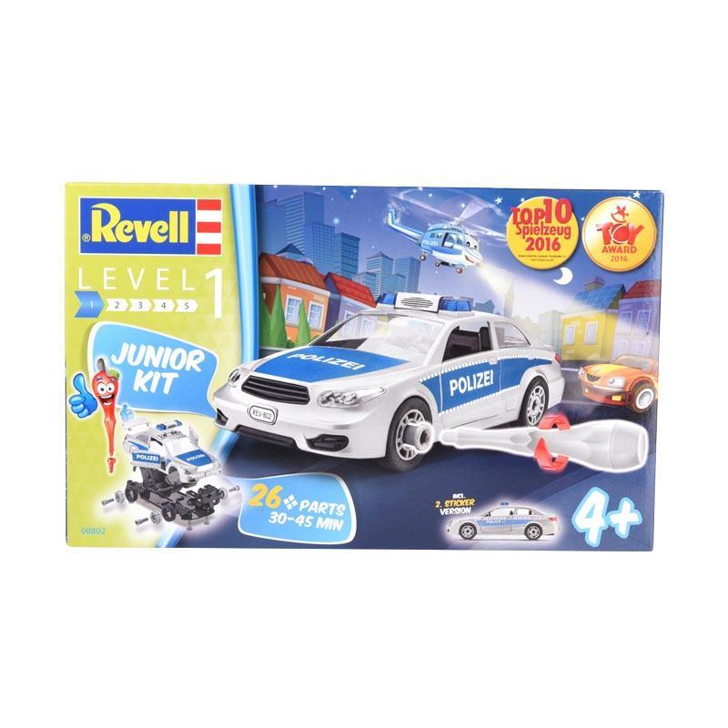 Revell Junior Kit Level 1 Police Car Model Kit