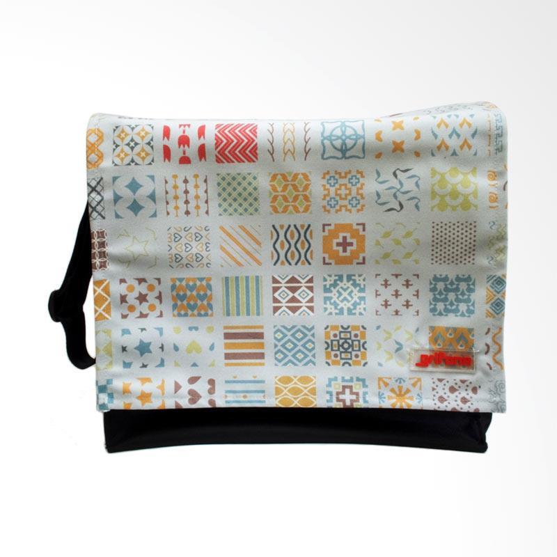 Grifone Abstract Tiles Messeger Bag Tas Selempang Wanita