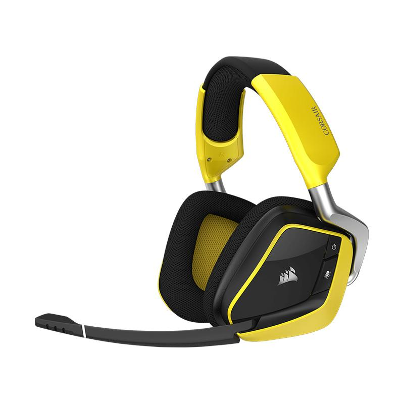 harga Corsair Void Pro RGB Wireless Premium Gaming Headset with Dobly Headphone 7.1 [Exclusive Receiver Dock] Blibli.com
