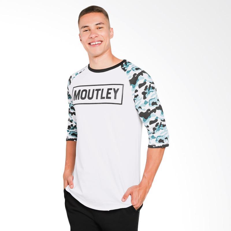 Moutley 1309 T-Shirt Pria - White