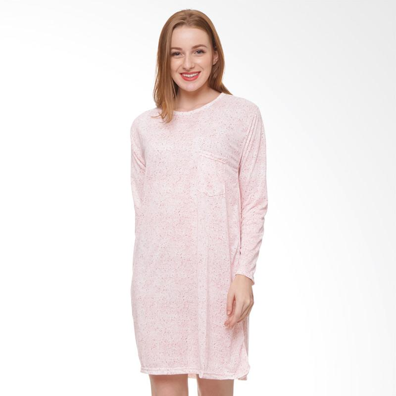 harga Edberth Larina GM 01 Mini Dress Wanita - Pink Blibli.com