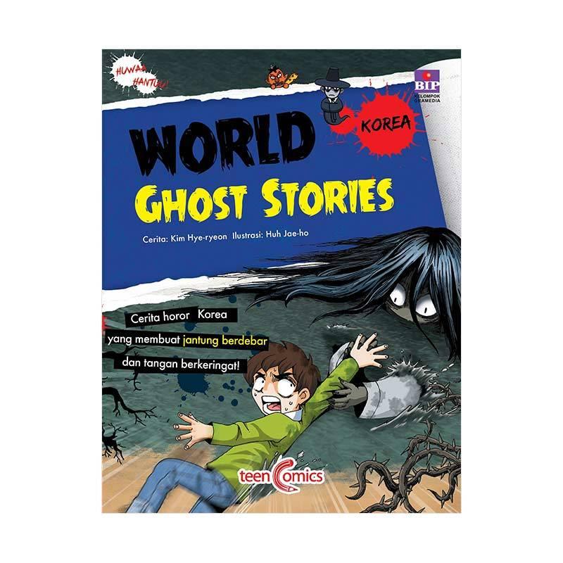 BIP World Ghost Stories Korea By Kim Hye Reyon Buku Komik