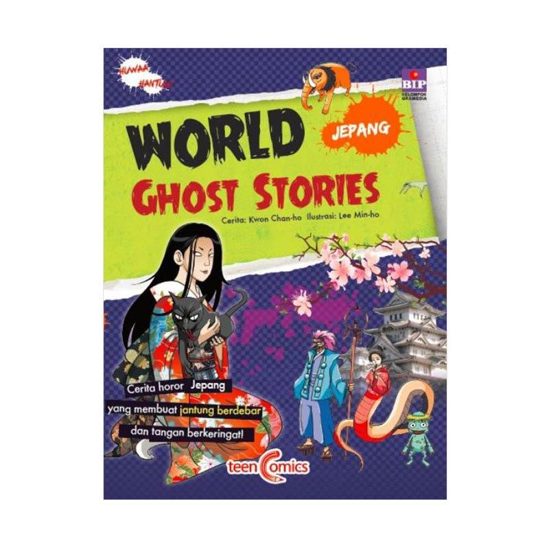 BIP World Ghost Stories Jepang By Kwon, Chan-Ho Buku Komik