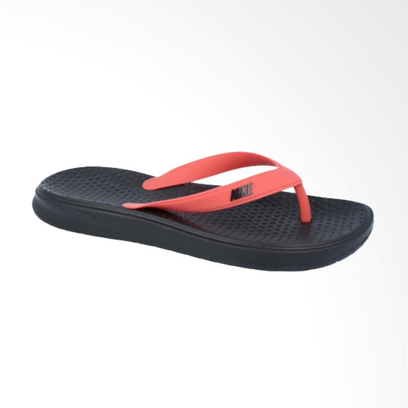 harga NIKE Solay Thong Sandal Olahraga Pria - Black Pink [882690003] Blibli.com