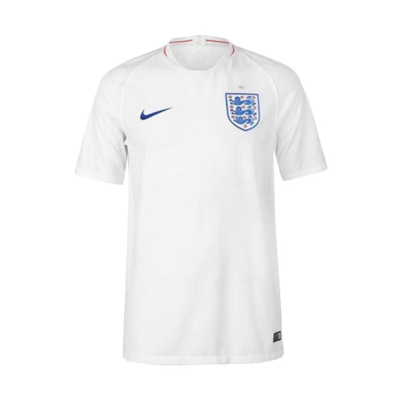 NIKE Men Football World Cup 2018 England Stadium Home Jersey Sepakbola Pria
