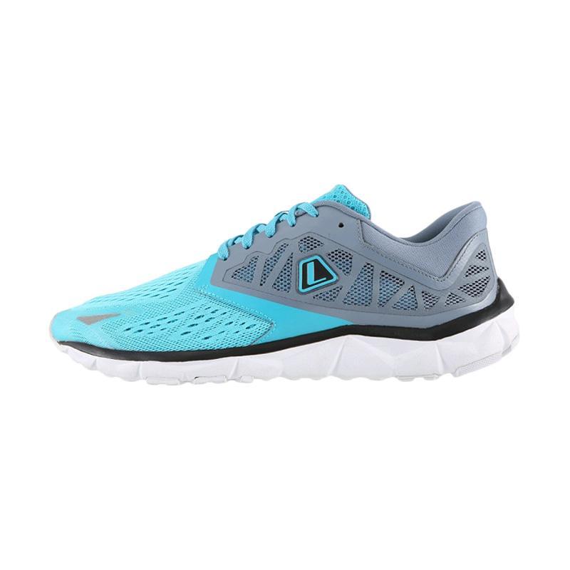 League Volans Evo Sepatu Lari Wanita Blue Grey