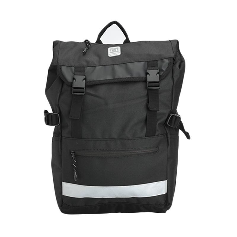 DC Huck Stone M Anthracite Backpack tas Pria ad14dbad2e