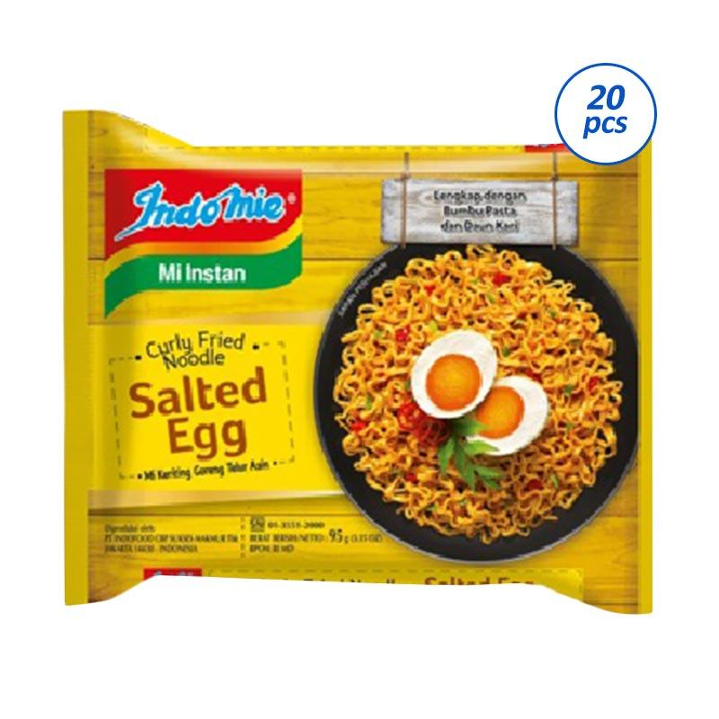 Indomie Salted Egg Mie Instan [20 Pcs x 100 Gr]